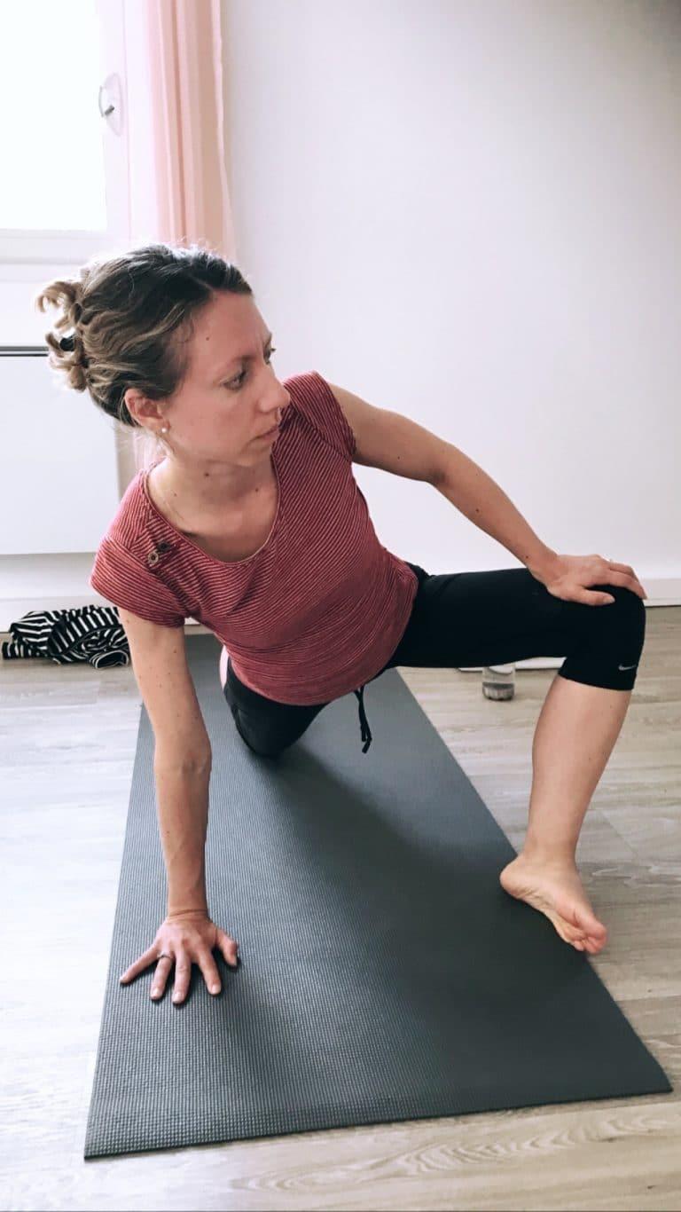 Cours de vinyasa yoga pour débutant à confirmé